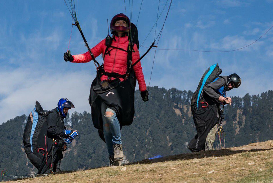 TUSUR Paragliders Represent Russia at Himalayan Open Cup