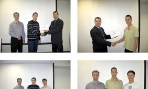 First graduates of Center for International IT-training of TUSUR