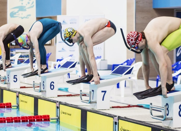 TUSUR students at the Underwater Sport Championship