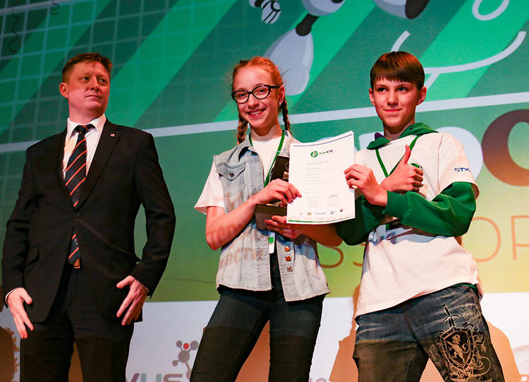 Awards Ceremony at RoboCup Russia Open 2017