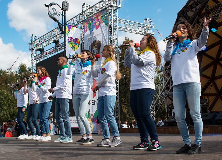 TUSUR atTomsk City Day2017